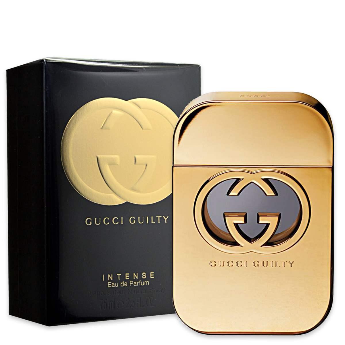 gucci gucci guilty intense 75ml donna guc252503 737052525037. Black Bedroom Furniture Sets. Home Design Ideas