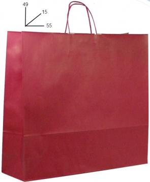 Shoppers carta  colore  bordo' h49 x l55 x p15