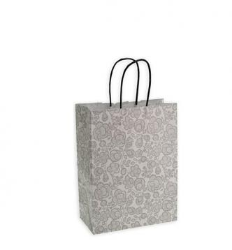 Shoppers carta f.to.18 + 8 x 24 fant .damasco grigia