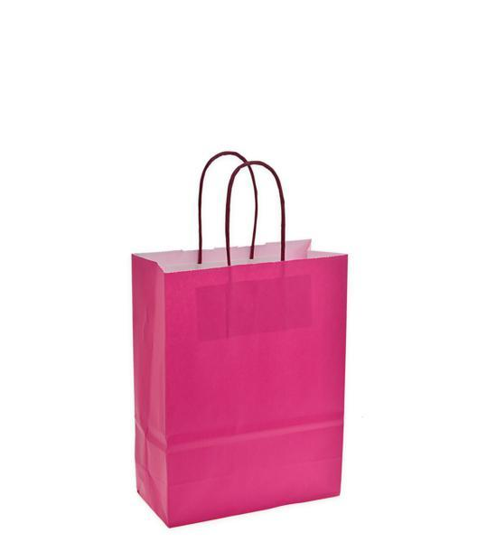 Shoppers carta f.to.18 + 8 x 24 colore fuxia