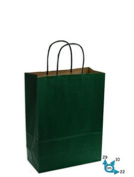 Shoppers carta .f.to .22 + 10 x 29 col. verde scuro