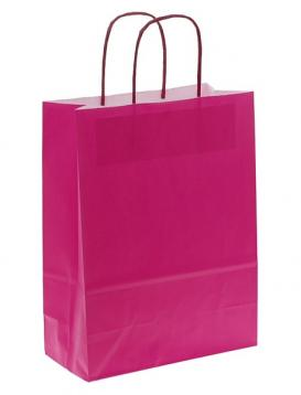 Shoppers carta f.to 27 + 12 x 37 col. fuxia