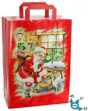 Shoppers  carta f.to 32 + 17 x 45 f. santa claus