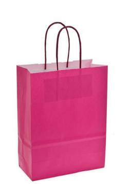 Shoppers f.to .36 + 12 x 41 col. fuxia .m.ritorto