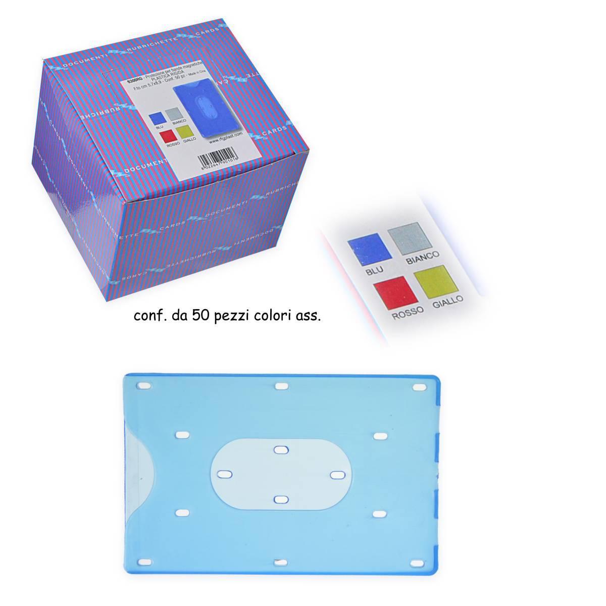 Protezione per carte di credito in plastica rigida ass for Protezione sussidiaria carta di soggiorno