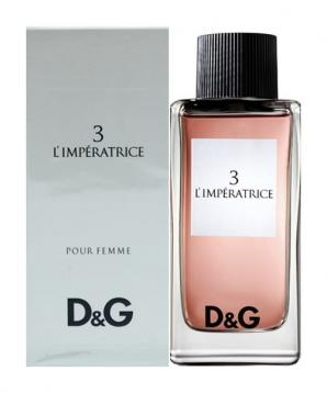 D&g 3 l'imperatrice' edt 100ml donna