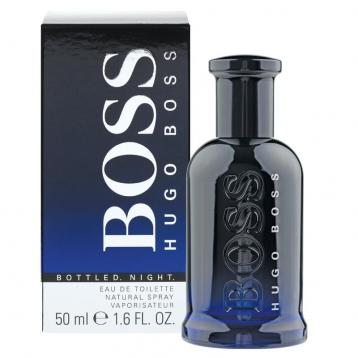 Boss bottled night edt 50ml uomo