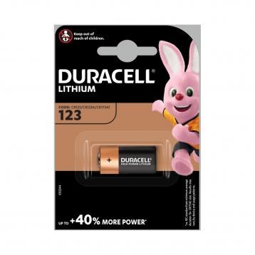 Duracell 123 3v lithio photo