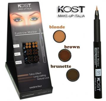 Display eyebrow marker kost 24 pz