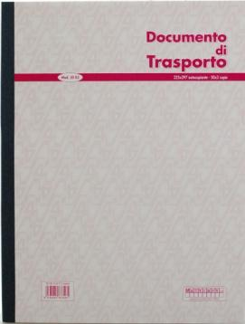 Bl.documento di trasporto 225 x 297