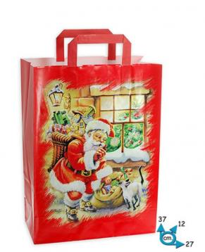 Shoppers carta f.to 27 + 12 x 37 santa claus m.p