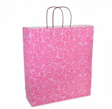 Shoppers carta f.to .36 + 12 x 41 f. damasco fucsia