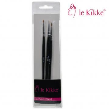 Le kikke set pennelli x nails art