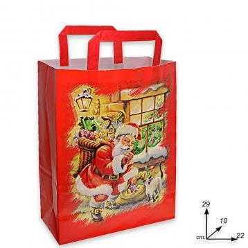 Shoppers  carta  f.to 22 + 10 x 29 santa claus