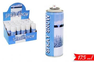 Neve spray per decoraz. 175ml in display