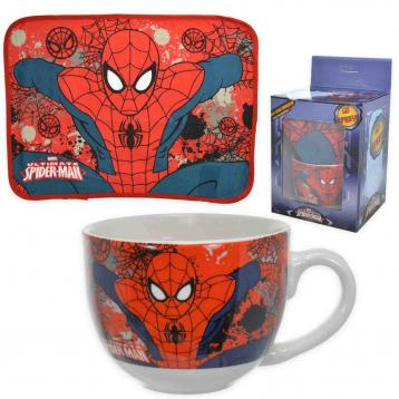 Gift kitchen tovagl.+tazza spider-man
