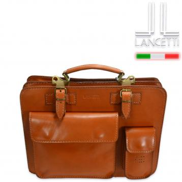 Cartella in pelle made in italy - lancetti