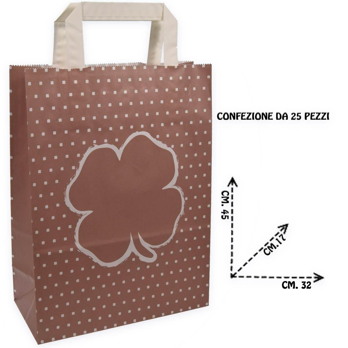 Shoppers f.to 32 + 17 x 45 fantasia quadrifoglio