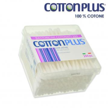 Cotton plus 200 bastoncini cotonati