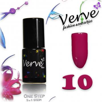 Verve nails smalto 6 ml one step 3 in 1 n. 10