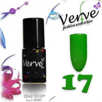 Verve nails smalto 6 ml one step 3 in 1 n. 17