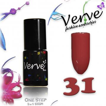 Verve nails smalto 6 ml one step 3 in 1 n. 31