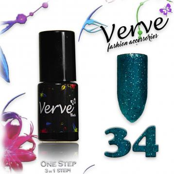 Verve nails smalto 6 ml one step 3 in 1 n. 34