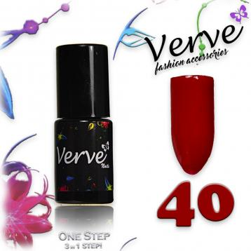 Verve nails smalto 6 ml one step 3 in 1 n. 40