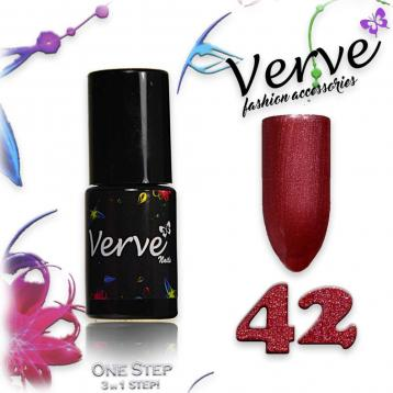 Verve nails smalto 6 ml one step 3 in 1 n. 42