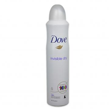 Dove deo spray 250 ml invisible dry
