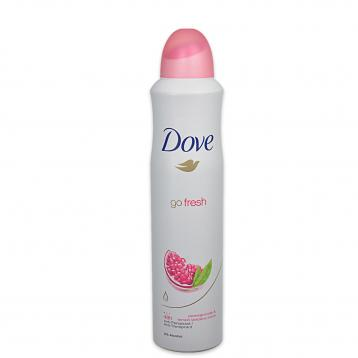 Dove deo spray 250 ml pomegranate