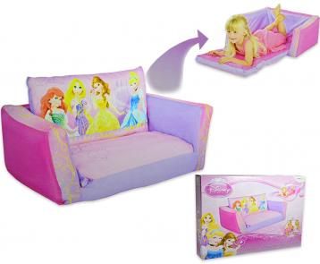 Flip out sofa' gonfiabile estensibile princess