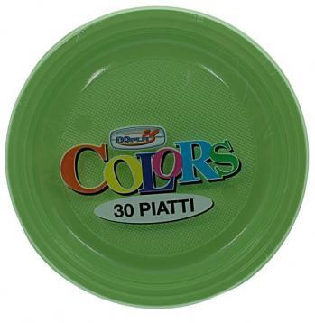 Piatti Frutta 50pz Colori Assortiti Dopla