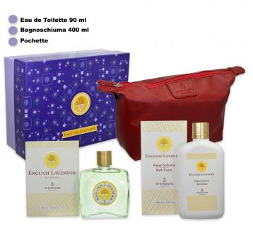 Atkinsons english lavander edt 90 ml + shower 400 ml + bag
