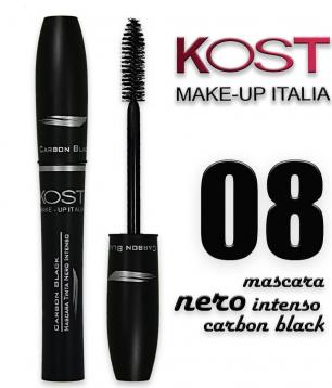 Mascara carbon black kost 08