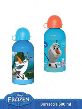 Borraccia alluminio 500 ml frozen olaf