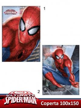 Coperta in pile 100x150 spiderman