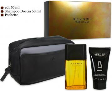 Azzaro uomo edt 50 ml + bagno 50 ml + beauty