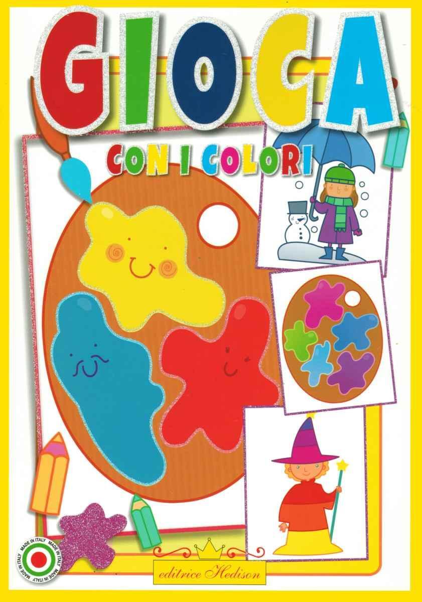 Libro da colorare gioca con i colori lib0358 9788886800358 - Libro immagini a colori ...