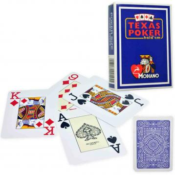 Texas poker  blu modiano