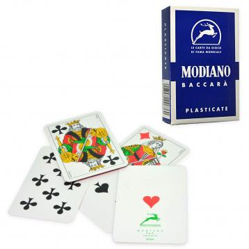 Carte modiano baccara' 15/fn blu'