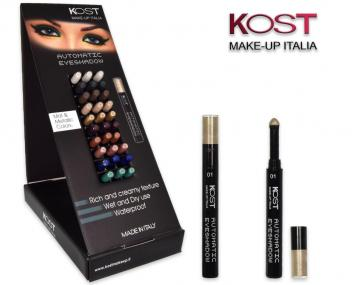 Display eyeshadow automatic kost 30 pz