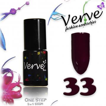 Verve nails smalto 6 ml one step 3 in 1 n. 33
