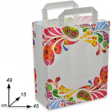 Shoppers carta h49 x l45 x p15 fantasia sixty