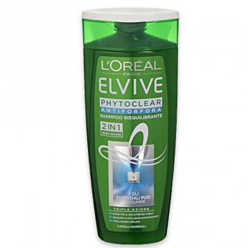 Elvive shampoo 250 ml phytoclear 2in1