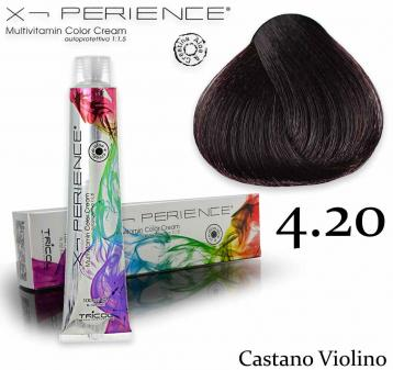 X - perience color cream 100 ml 4.20 castano violino