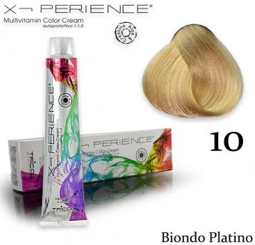 X - perience color cream 100 ml 10 biondo platino