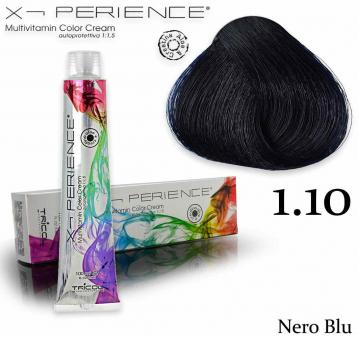 X - perience color cream 100 ml 1.10 nero blu
