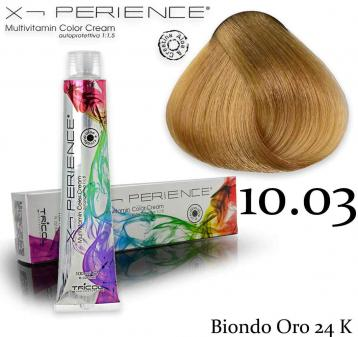 X - perience color cream 100 ml 10.03 biondo oro 24k