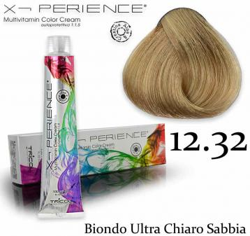 X - perience color cream 100 ml 12.32 biondo ultra chiaro sabbia